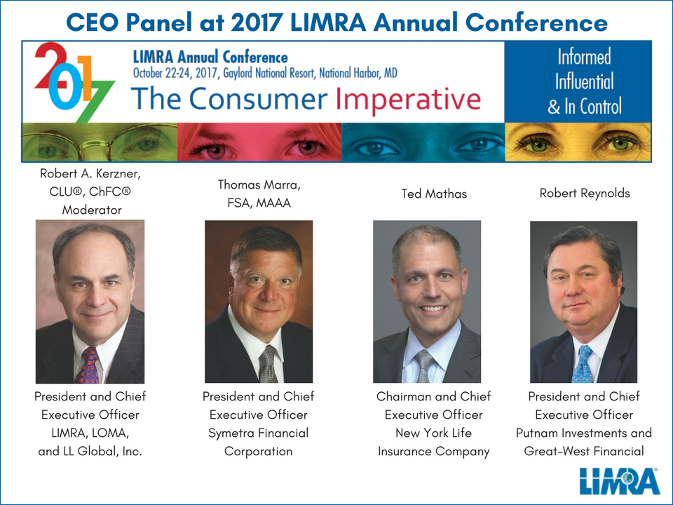 2017 LIMRA Annual Conference CEO Panel